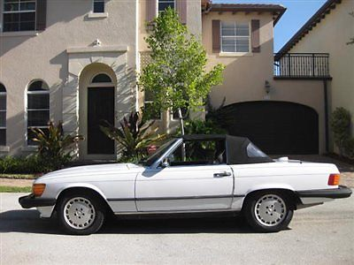 awesome 1987 Mercedes-Benz SL-Class 560SL 560 SL - For Sale View more at http://shipperscentral.com/wp/product/1987-mercedes-benz-sl-class-560sl-560-sl-for-sale/