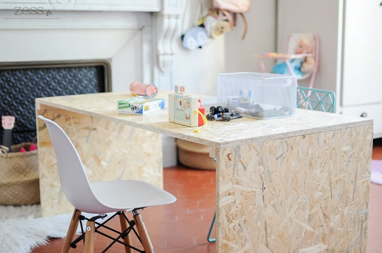Diy le bureau home made de lily rose osb furniture