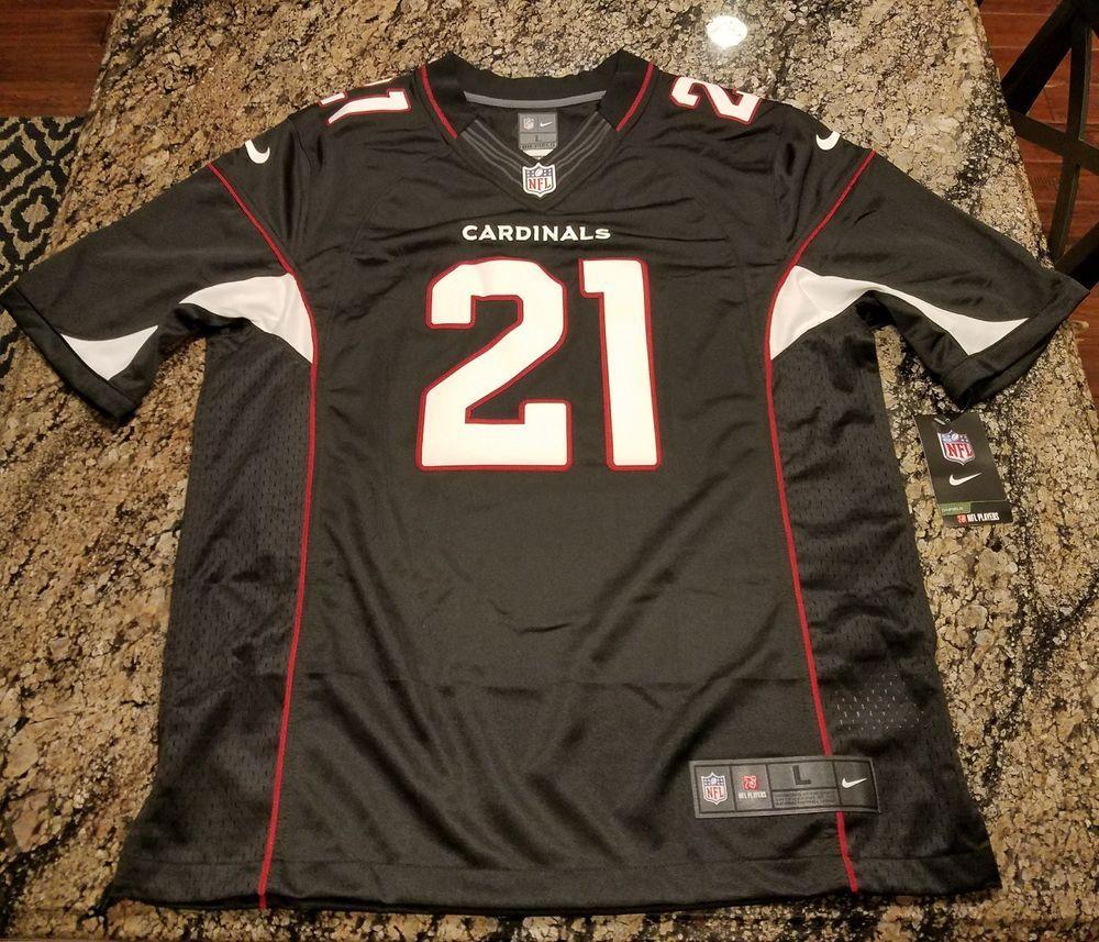 e76ae6b68c54c Nike Arizona Cardinals Black Jersey Patrick Peterson ON Field Authentic  $150 L #Nike #ArizonaCardinals