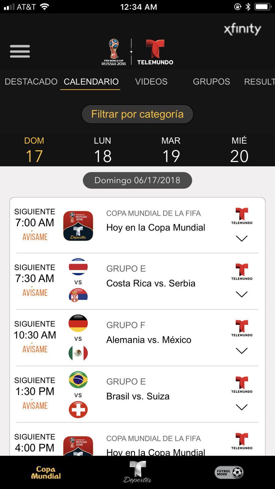 Telemundo Deportes En Vivo LLCMediaiosSports Game