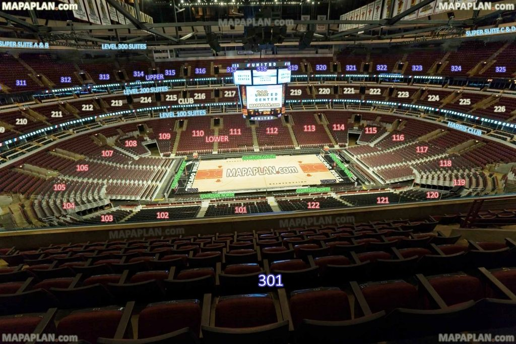 Incredible United Center Bulls Di 2020