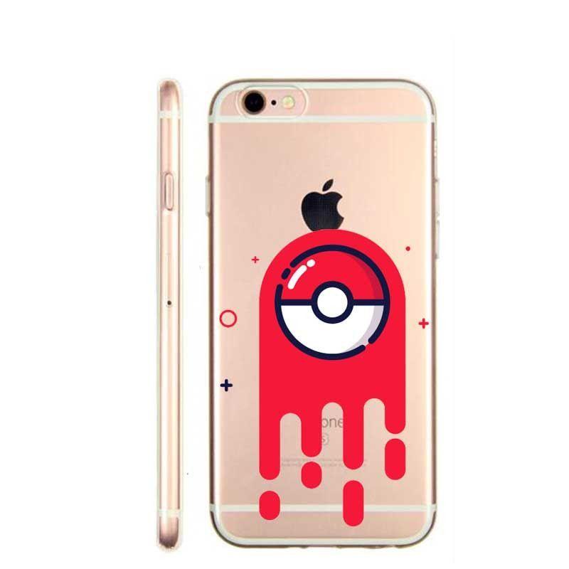 pokemons poke ball phone cases pokemons go pokeball transparent
