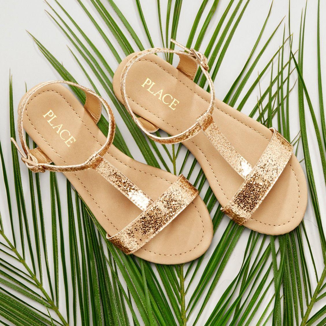 Girl/'s Kid/'s Cute Beach T-Strap Thong Fringe Flat  Sandal Shoes Size 9-4 NEW