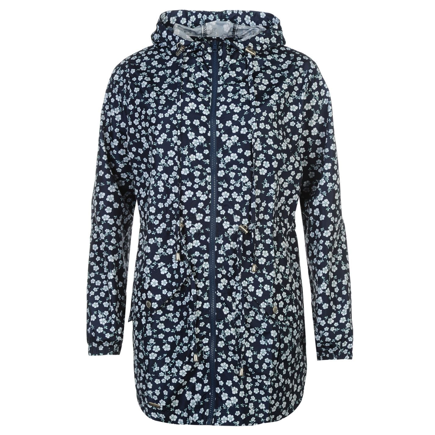 Lee Cooper Pack a Parka Ladies   The Lee Cooper Pack a Parka is perfect for festivals and day trips with its lightweight construction it can be packed away when not in use and safely stored in your bag. Designed with an all-over pattern it features long sleeves, a full length zip fastening and two