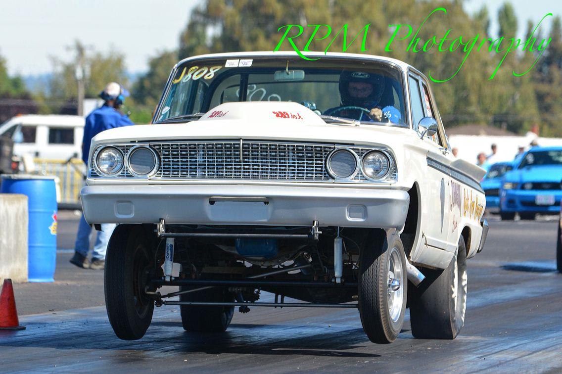 Fairlane Gasser Wheels Up Nhra Drag Racing Pinterest