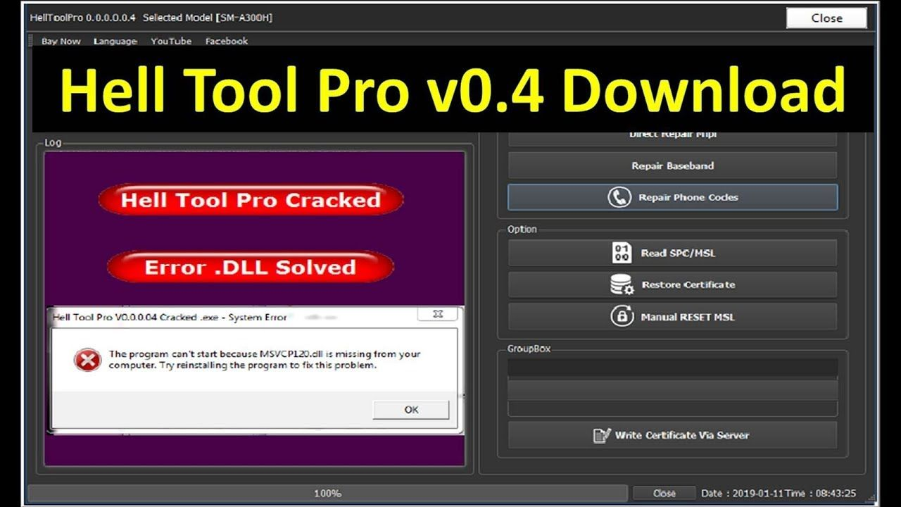 Latest Hall Tool Pro V0.4 Full Cracked Version Download