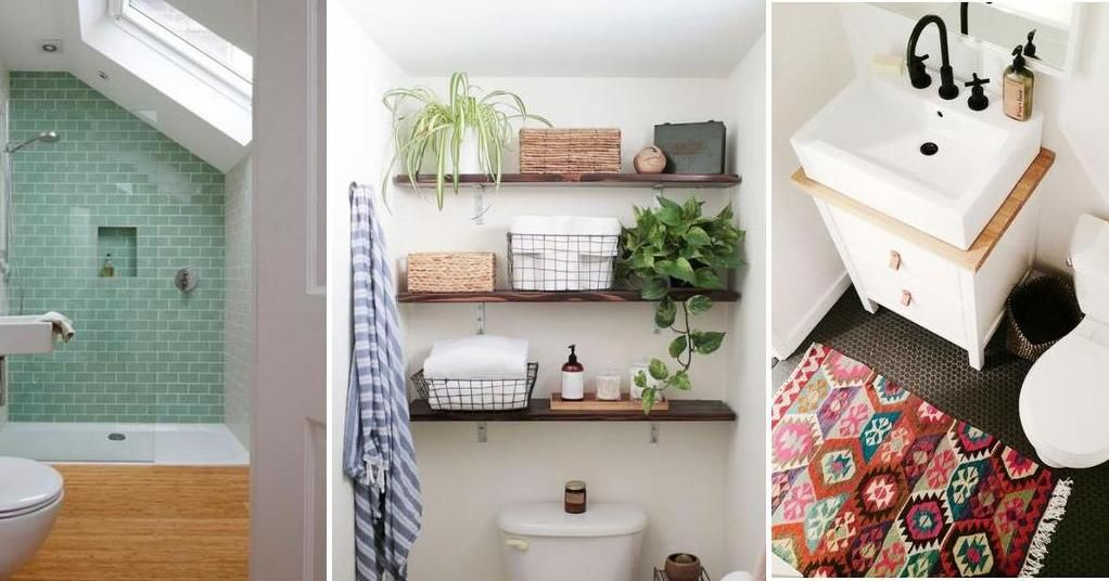 M s de 30 ideas y consejos para ba os peque os apunta for Ideas para decorar el bano de mi casa