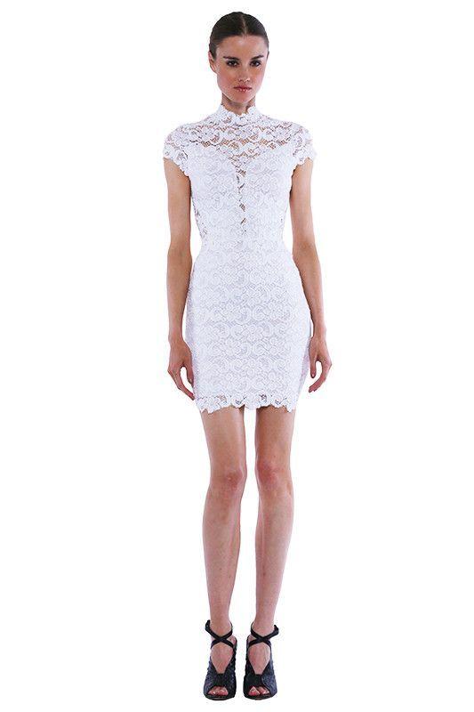 Dixie Lace 16th District Mini Dress