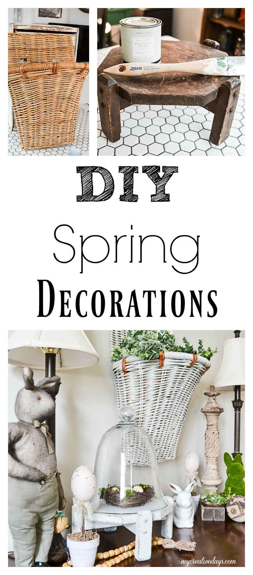 Easy Diy Spring Decorations To Welcome The New Season To Your Home