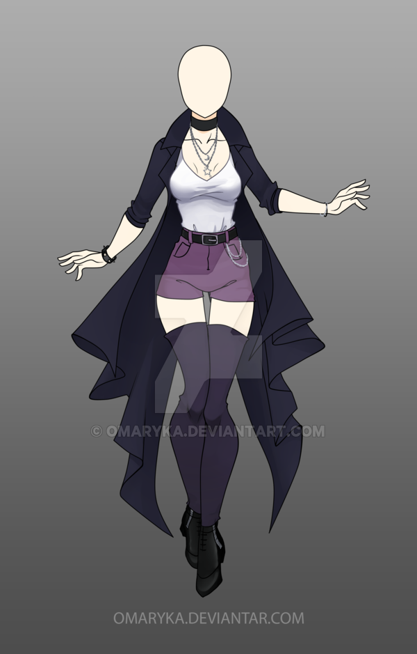 Anime Drawing Design [Closed] Adoptable Outfit Auction