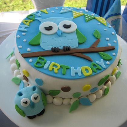 Disney Party Ideas for Kids Owl cakes Owl and Monsters