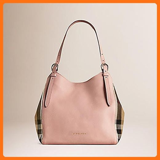 a859d5d21e53 Tote Bag Handbag Authentic Burberry Small Canter in Leather and House Pale  Orchid color Made in Italy - Top handle bags ( Amazon Partner-Link)