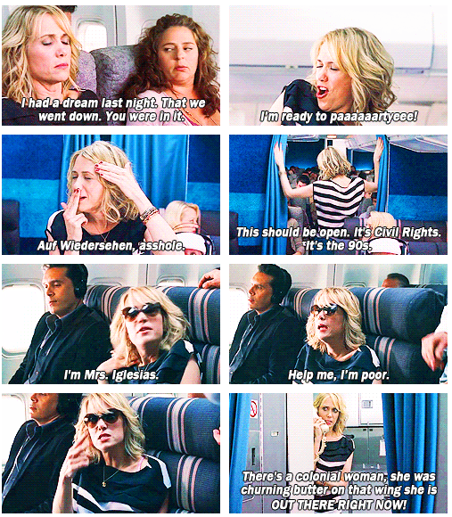 Help Me I M Poor Bridesmaids Airplane Scene Kristen Wiig Good Movies