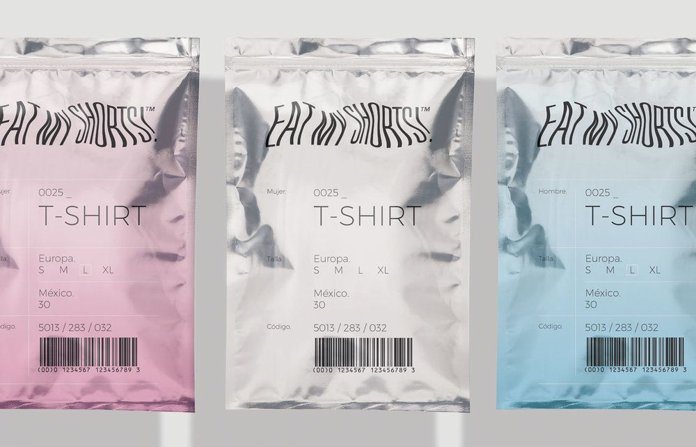 Eat My Shorts Is A Unique Clothing Packaging Solution Clothing Packaging Fashion Packaging Packaging Solutions