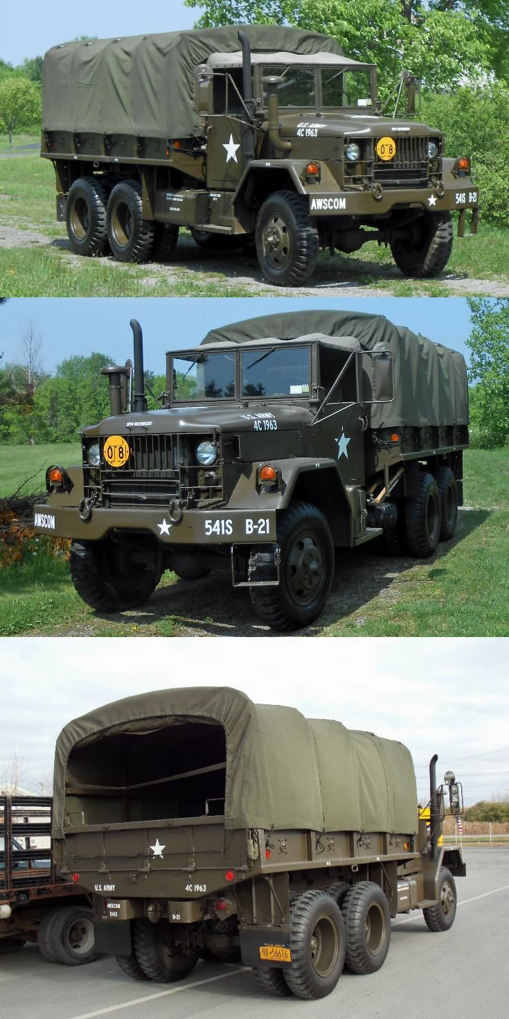 clean 1971 AM General M35a2, Deuce and a Half military in