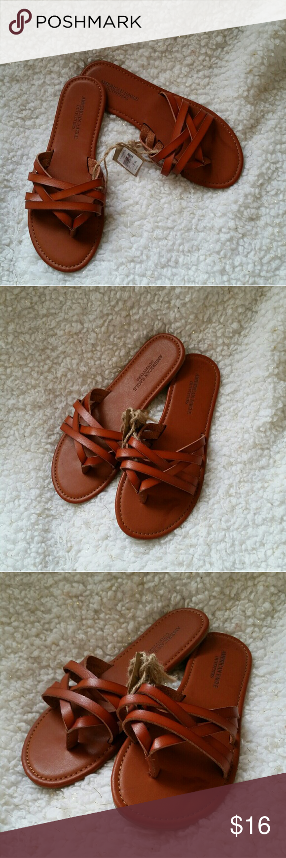 b87bff90c2ca New AEO sandals Brand new sandals Size 6 American Eagle Outfitters Shoes  Sandals