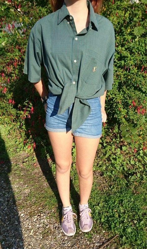 Pinterest Dressing Chemise Vinted Vintage Verte Ralph Lauren w8ZPv8 c67c6c0076fc