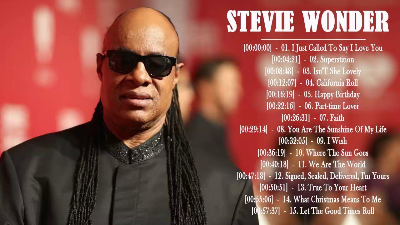 Stevie Wonder Greatest Hits Best Songs Of Stevie Wonder