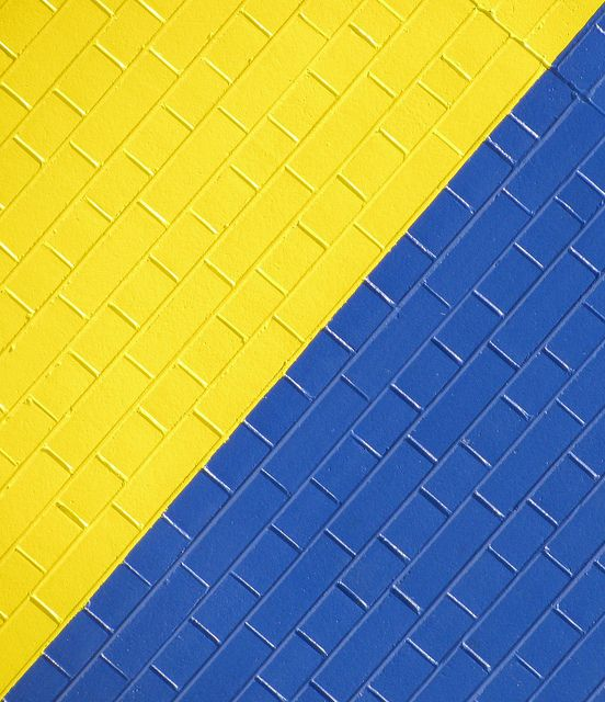 Yellow Blue Blue Yellow Yellow Background Yellow