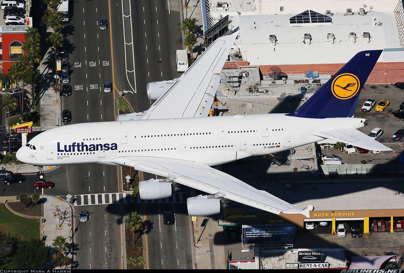 Airbus A380841 Lufthansa Aviation Photo 2752801