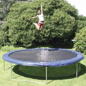 It is not recommended to jump on a trampoline while pregnant