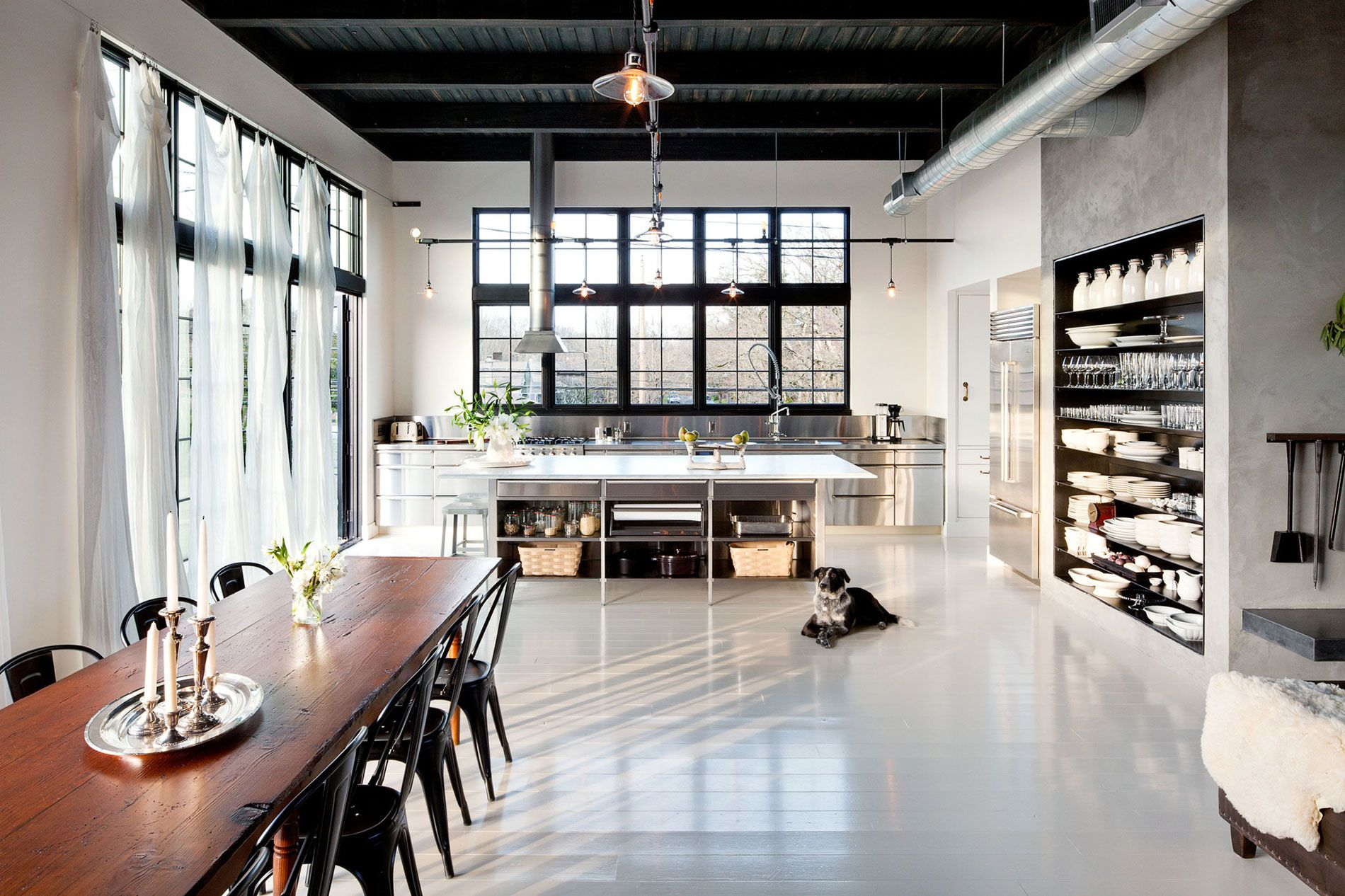 Se Division Street Industrial Penthouse In Portland By Emerick Architects 06