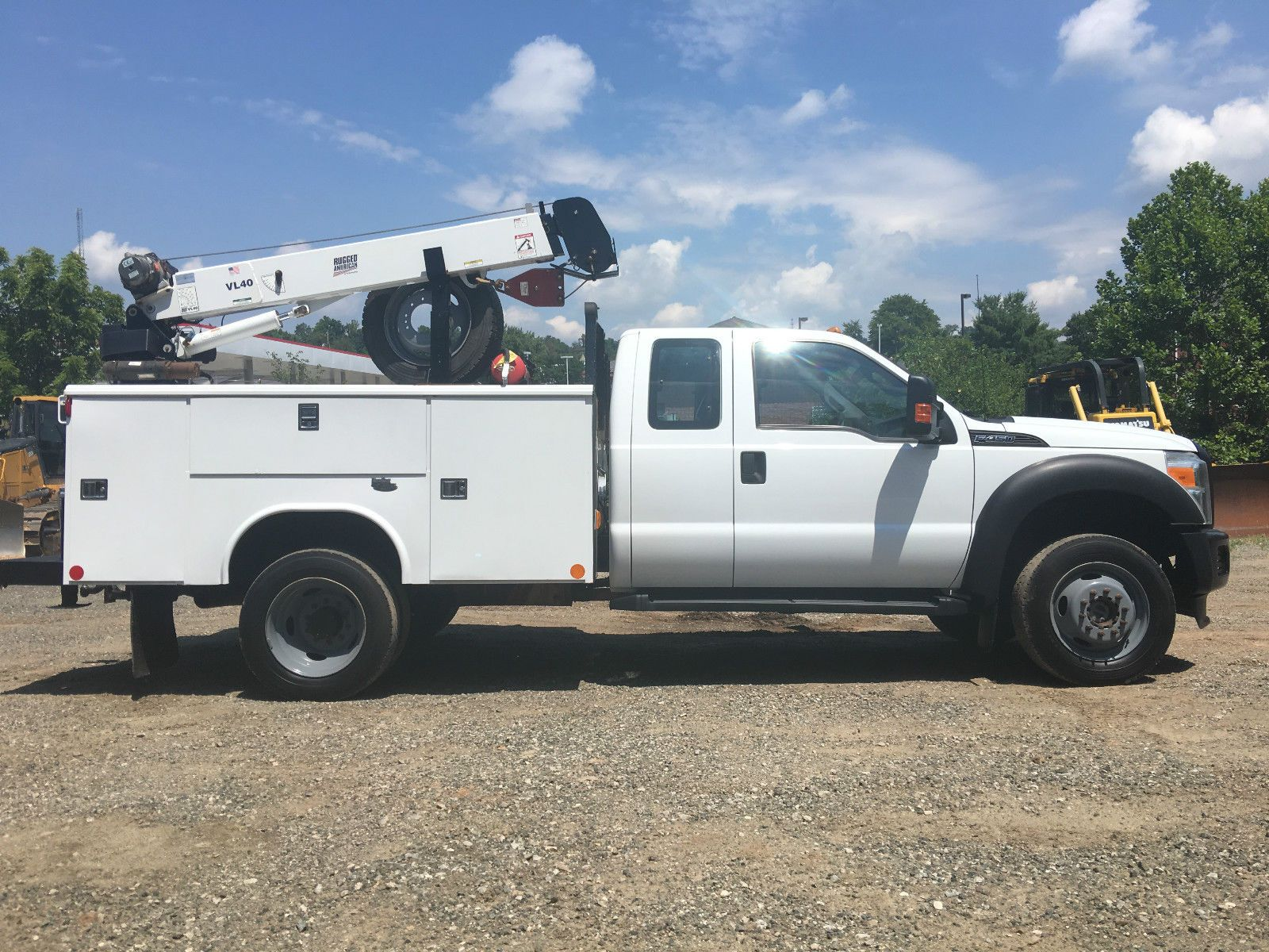 Ford F  Service Utility Truck Extended Cab