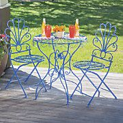 Monet Cafe Table and Set of 2 Chairs