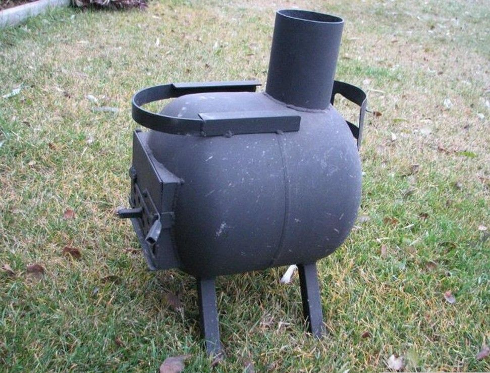 Propane tank stove diy pinterest stove propane for Diy camp stove