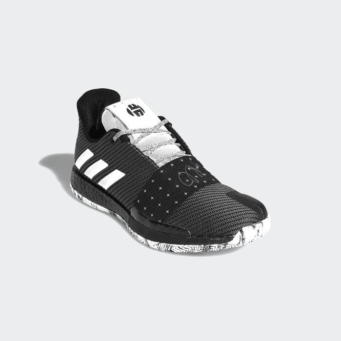 Harden Vol. 3 Shoes Black Mens | Black shoes, Black adidas