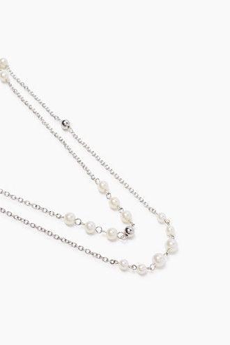 Esprit / Kaksirivinen ketju metallia ja helmiä