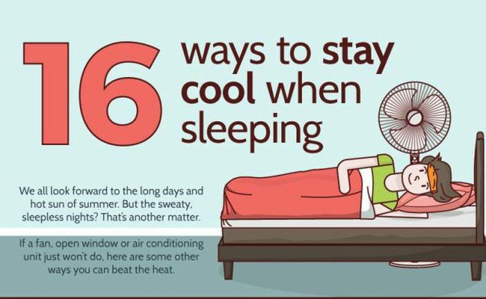 16 Ways You Can Stay Cool While Sleeping In The Summer Heat Memolition Stay Cool Cool Baby Stuff How To Fall Asleep