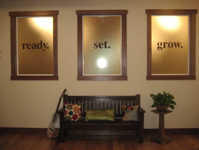 cool idea for a yoga studio