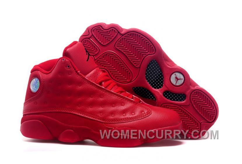 88f4e64b85fb 2017 Mens Air Jordan 13 All Red Shoes For Sale Top Deals Y2hhzX in ...