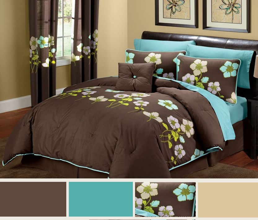 Guest Bedroom Ideas Turquoise And Brown Guest Bedroom Brown Decor