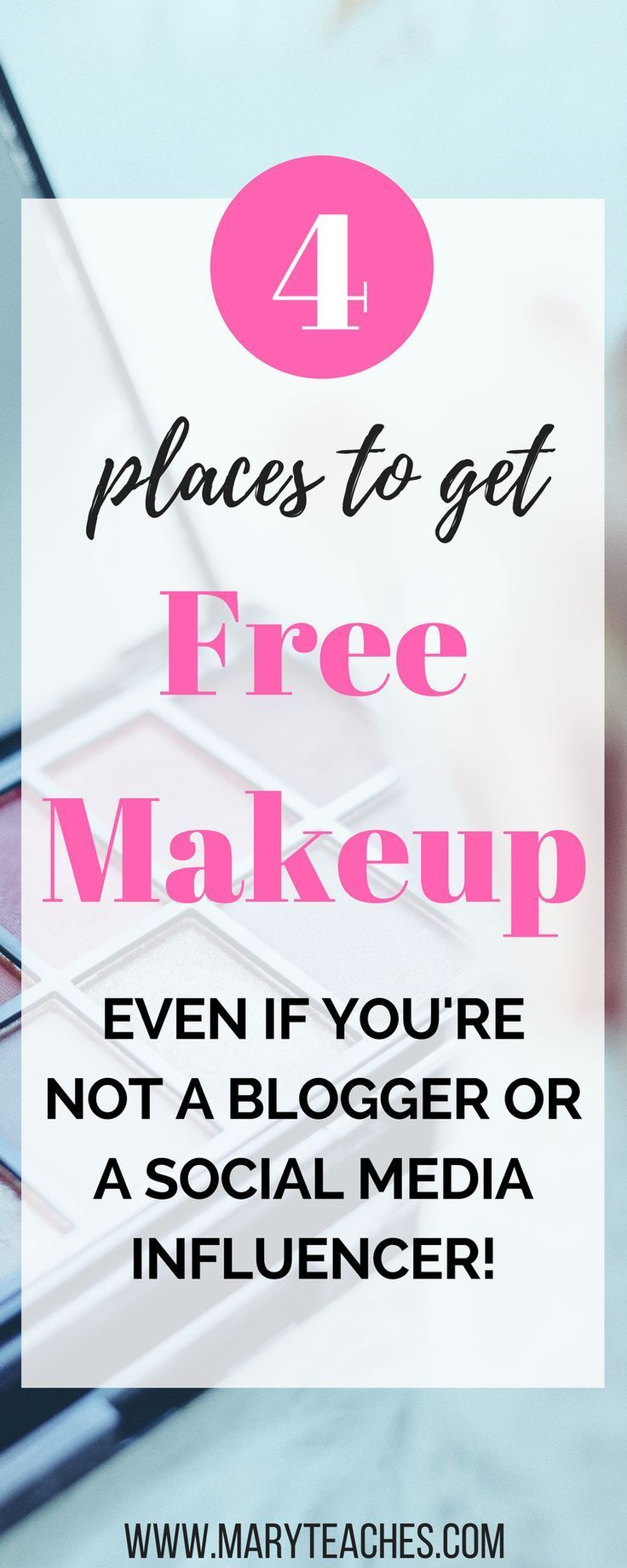 how to get free beauty products sent to you