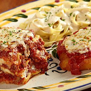 Tour of italy my favorite meal the olive garden one of my favorite restaurants for Olive garden lunch lasagna classico