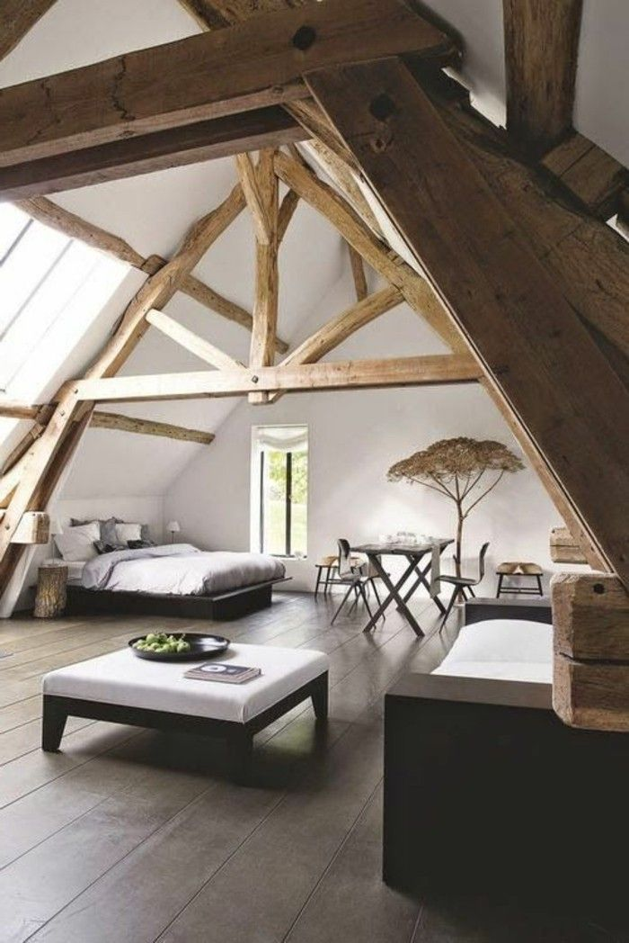 Awesome Chambre Sous Comble Moderne Contemporary - Yourmentor.info ...