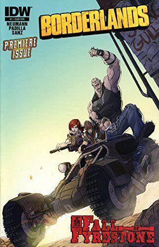 Borderlands 2 Comic Book