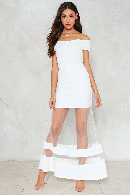 29+ Cheap Nasty Gal White Dresses