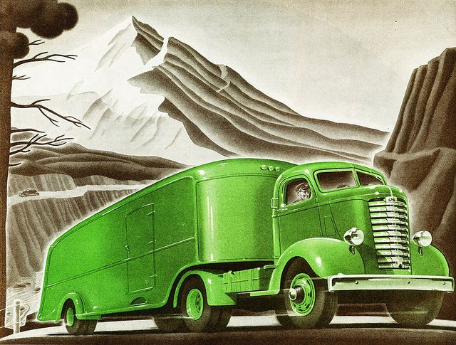 1939 GMC 1-1/2 Ton C.O.E. Truck