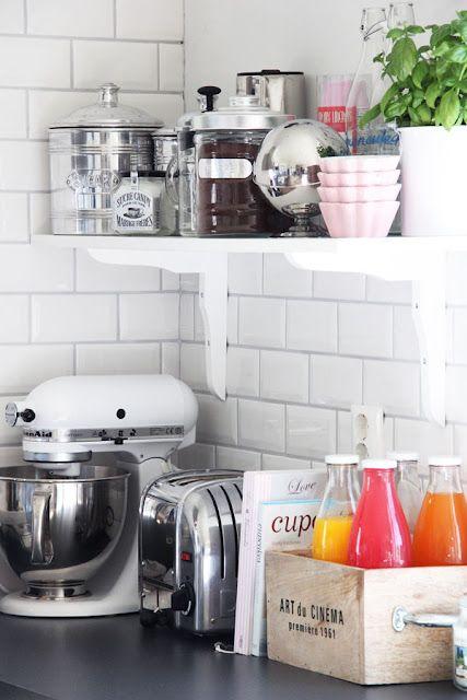 Small Kitchen apartment cabinet organization ideas  Shelves