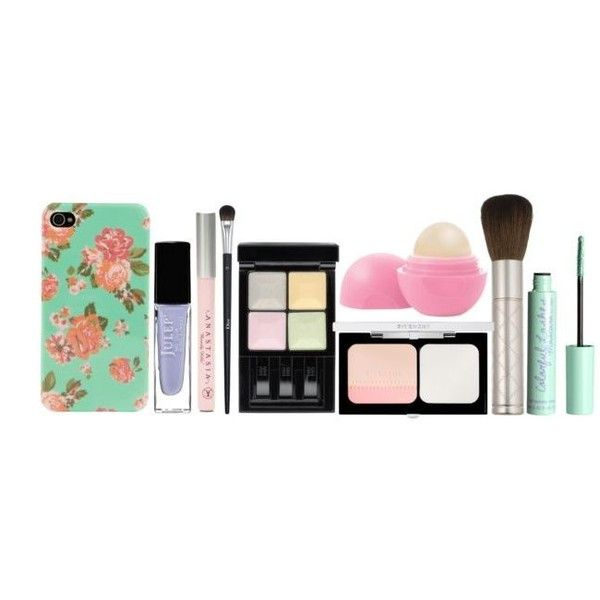 Pre-made Sets ❤ liked on Polyvore featuring makeup, fillers, accessories, extras and pre-made sets