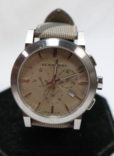 Burberry Men's Swiss Chronograph Smoke Check Fabric Strap 42mm Watch BU9361 $595 https://t.co/ewjsVvnVbk https://t.co/iRlaqUlVqS