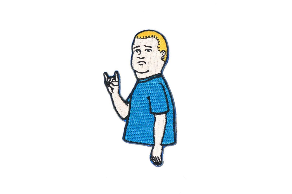 King Of The Hill Bobby Hill Horns Iron On Patch Etsy In 2021 Bobby Hill King Of The Hill Iron On Patches