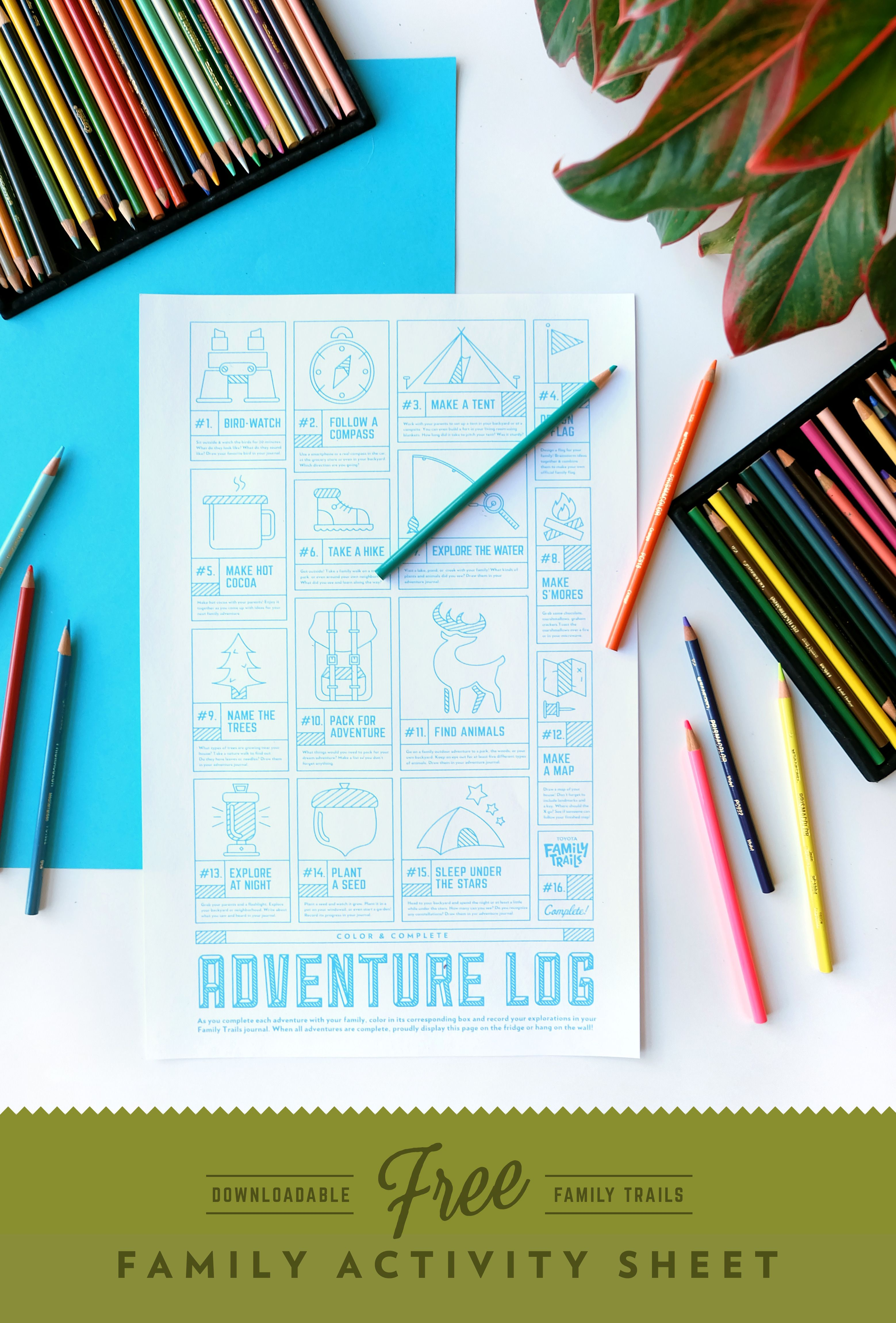 Download This Free Adventure Activity Sheet From