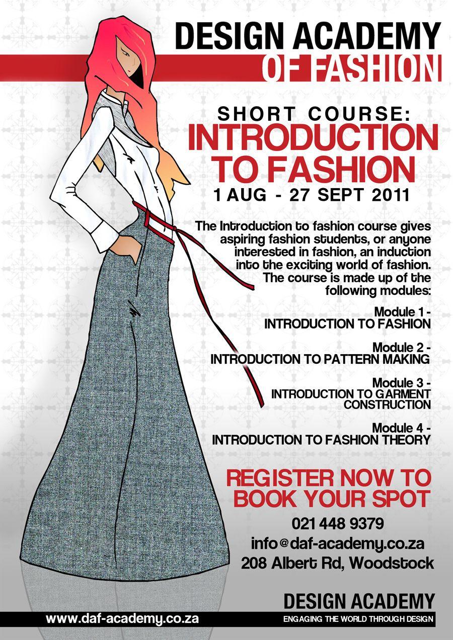Short Course 900 Jpg 900 1272 Fashion Courses Student Fashion Short Courses