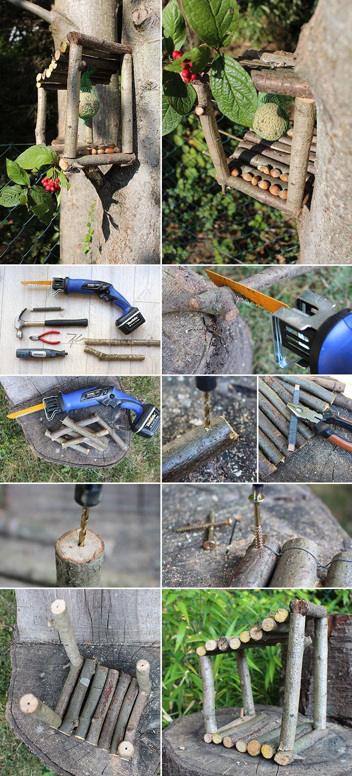 DIY: Dani von Gingered Things zeigt dir wie du aus Zweigen mit einer S