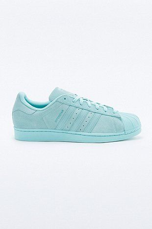 adidas Originals - Baskets Superstar RT Monotone en daim vert d ...