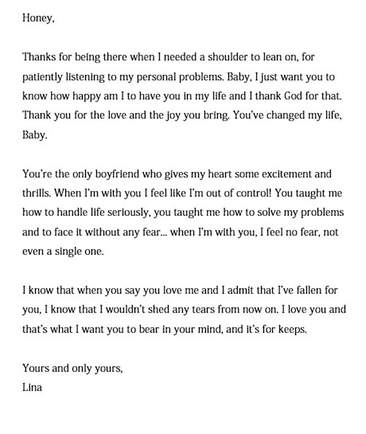 Love Letter To Write A Boyfriend Letters To Boyfriend Love Letter For Boyfriend Writing A Love Letter